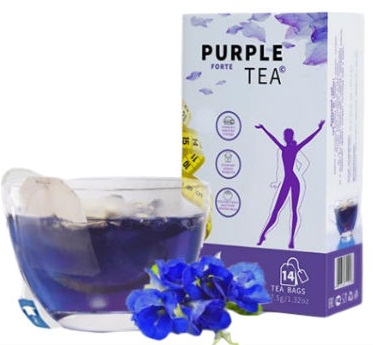 Пурпурный чай Форте для похудения