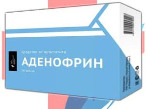 Аденофрин против простатита