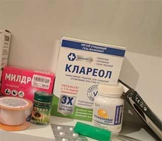Клареол фото препарата