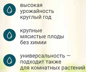 AgroUp свойства