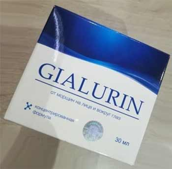 Gialurin фото крема от морщин